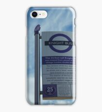 The Knight Bus - Bus Stop iPhone Case/Skin