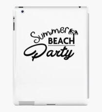 Summer Beach Party iPad-Hülle & Klebefolie