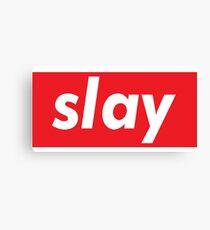 Slay Words Millennials Use   Canvas Print