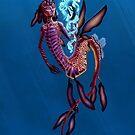Weedy Sea Dragon Merman by haltijakapala