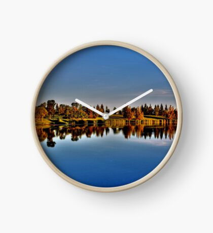 Reflections in the Park Clock
