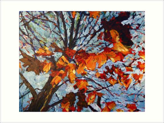 Golden Leaves 1 by eolai