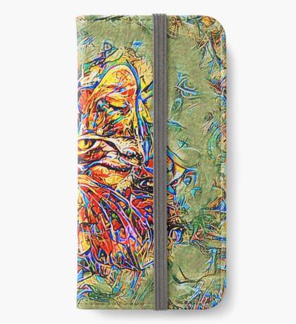 Ninja Cat. Deep Neural Networks #Art iPhone Wallet