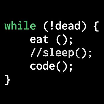 Eat Sleep Code Repeat by ashwing