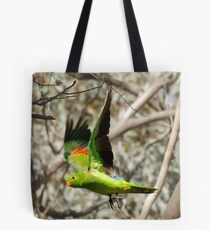 King Parrot Free as a Bird Tote Bag