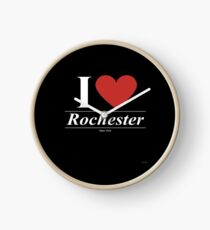 Reloj I Love  Rochester - Gift for Proud New Yorker From  Rochester New York NY