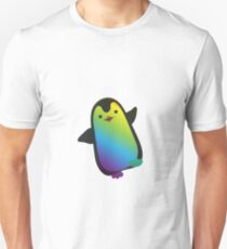 Coloful Cute Little Penguin Happy Feet  Unisex T-Shirt