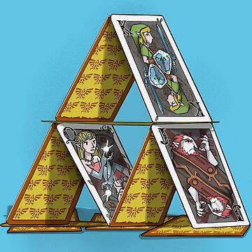 Triforce of cards by MoisEscudero