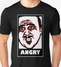 AngryAussie T-Shirt (for dark shirts) Unisex T-Shirt