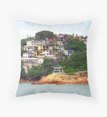 Lamma Island, Hong Kong Throw Pillow