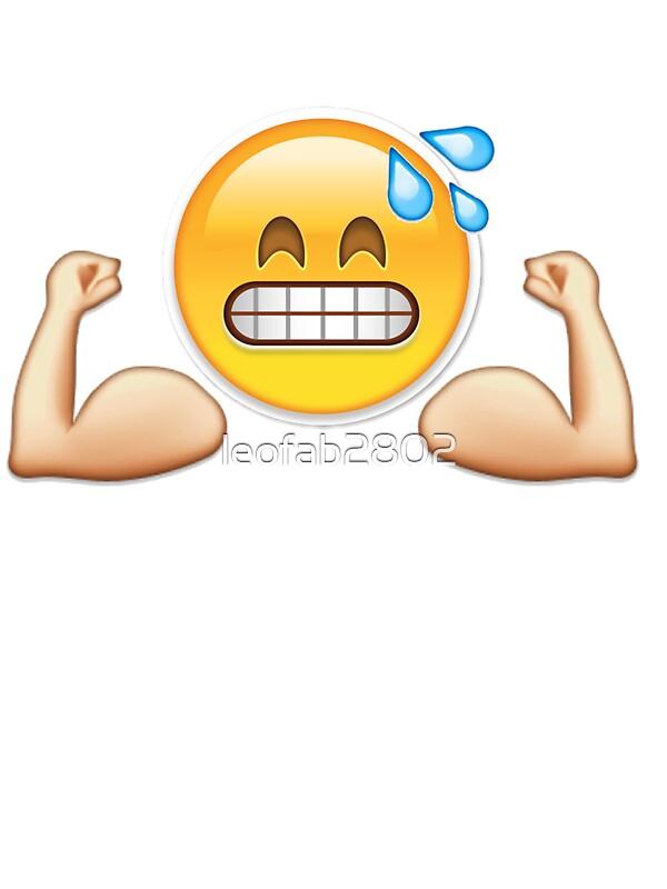 14727222 Gym Emoji on Spiral Border Design