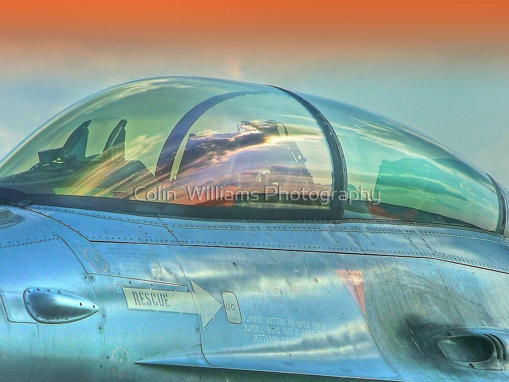 Top Gun by Colin  Williams Photography