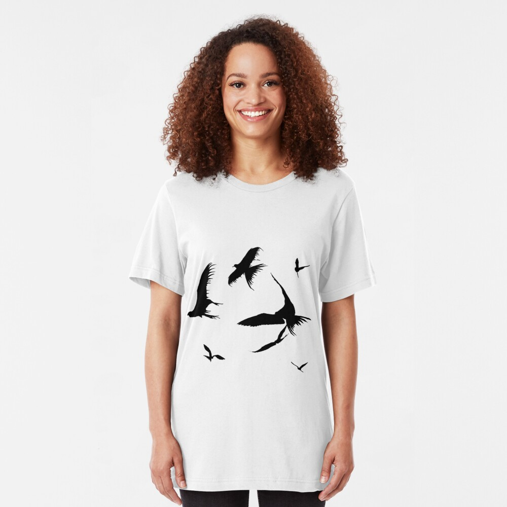 Frigate Birds Slim Fit T-Shirt
