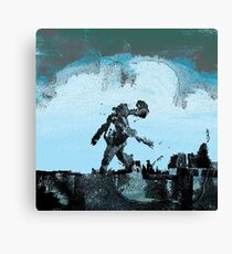 The Giant Passes by Canvas Print