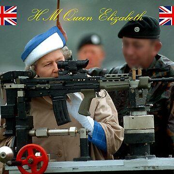 HM Queen Elizabeth II  by Picturestation