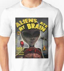 Aliens Ate My Brain Unisex T-Shirt