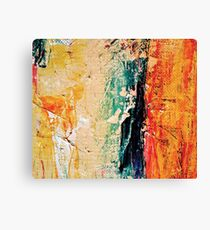 Abstract modern painting photography, Oil on Canvas Canvas Print