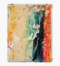 Abstract modern painting photography, Oil on Canvas iPad Case/Skin