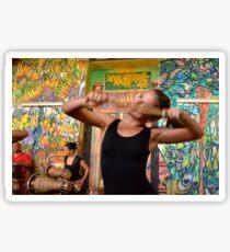 Happy Dancer in Havana Sticker