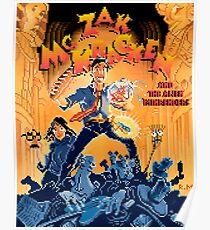 Zak McKracken Pixel Art Style Poster