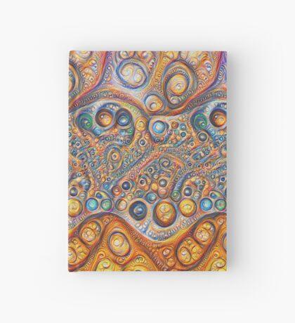Sand waves #DeepDream #Art Hardcover Journal
