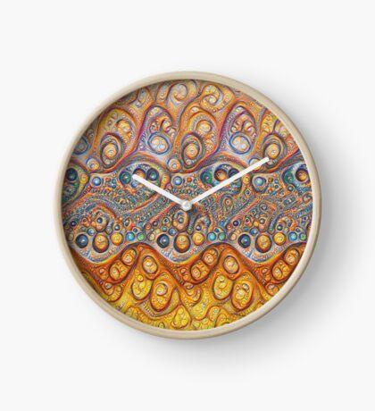 Sand waves #DeepDream #Art Clock