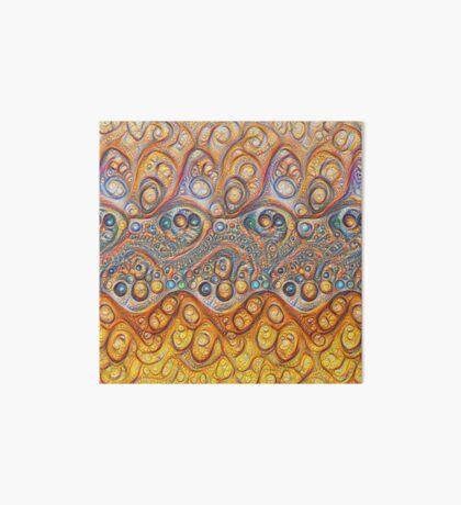 Sand waves #DeepDream #Art Art Board Print
