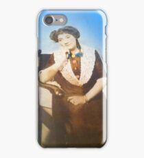 Little Sweet Granny by Sherri Nicholas iPhone Case/Skin