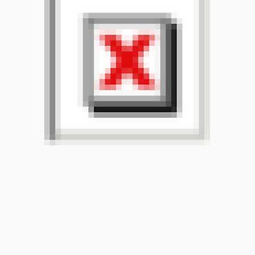 Pixel Red X by drbunsen