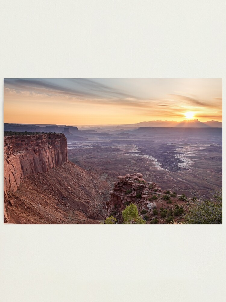 Alternate view of Canyonlands Sunrise Photographic Print