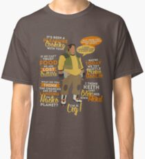 Hunk Quotes Classic T-Shirt
