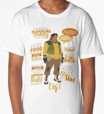 Hunk Quotes Long T-Shirt