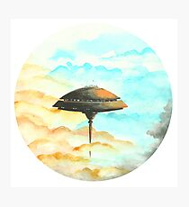 Cloud City on Planet Bespin, Star Wars Photographic Print