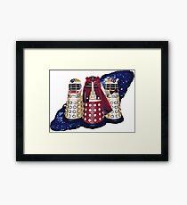 Dalek Squad - Doctor Who Framed Print
