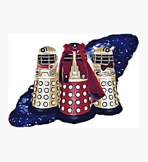 Dalek Squad - Doctor Who Photographic Print
