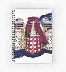 Dalek Squad - Doctor Who Spiral Notebook