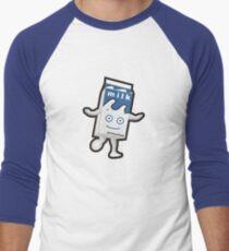 Unschärfe - Milchig Baseballshirt mit 3/4-Arm