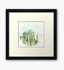 Theed Royal Palace, Naboo, Star Wars Framed Print