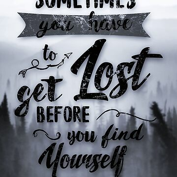 Sometimes you have to get lost by Destroyed-Pixel