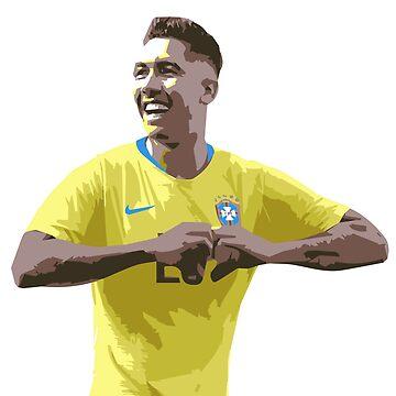 Roberto Firmino - Bobby - Brasil - Copa del Mundo - Liverpool de ConArtistLFC