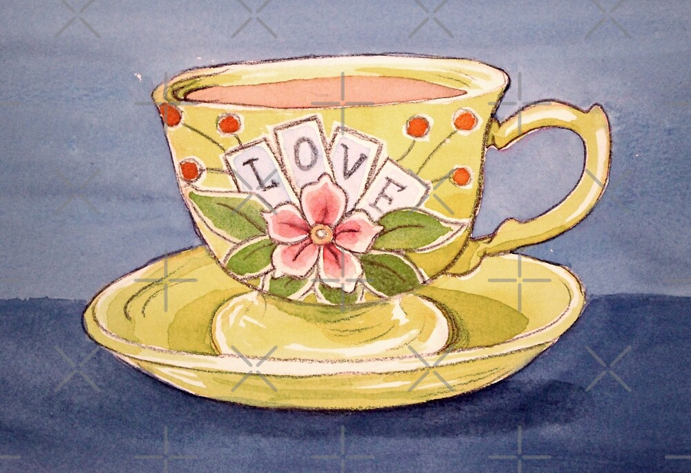 Cuppa Love by Sarah  Mac Illustration