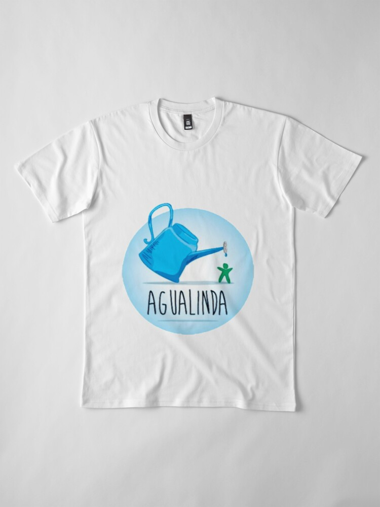 Alternate view of Agua Azul  Premium T-Shirt