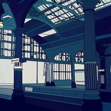 Darlington railway station by juliechicago