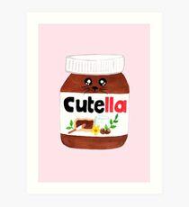 "Cute Nutella AKA ""Cutella"" Art Print"
