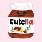 """Cute Nutella AKA """"Cutella"""" by makemerriness"""