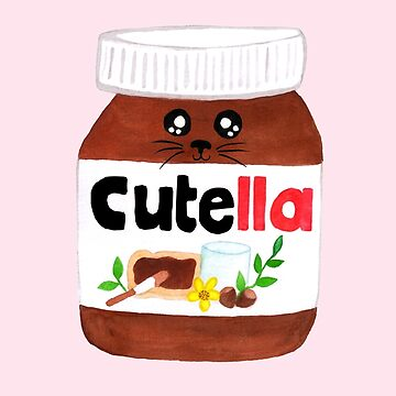 "Cute Nutella AKA ""Cutella"" by makemerriness"