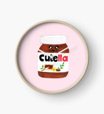 "Cute Nutella AKA ""Cutella"" Clock"