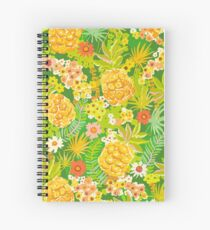 Pineapple Passion - Green Spiral Notebook