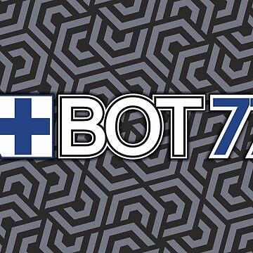 Valtteri Bottas BOT77 | F1 by SpeedFreakTees