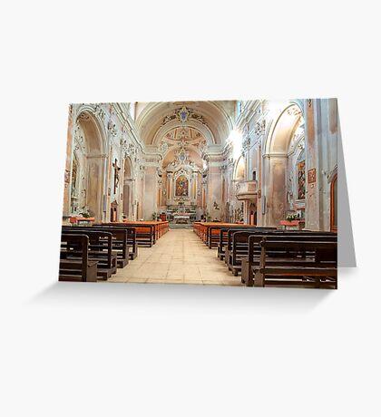 Church of S. Michele Arcangelo Greeting Card